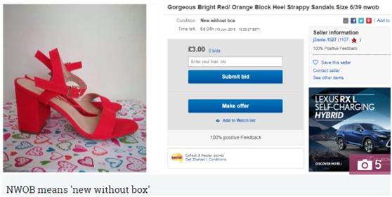 eBay平台也有行话暗语,与销量息息相关